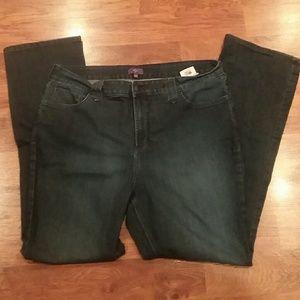 NYDJ Size 18W Straight Leg Jeans
